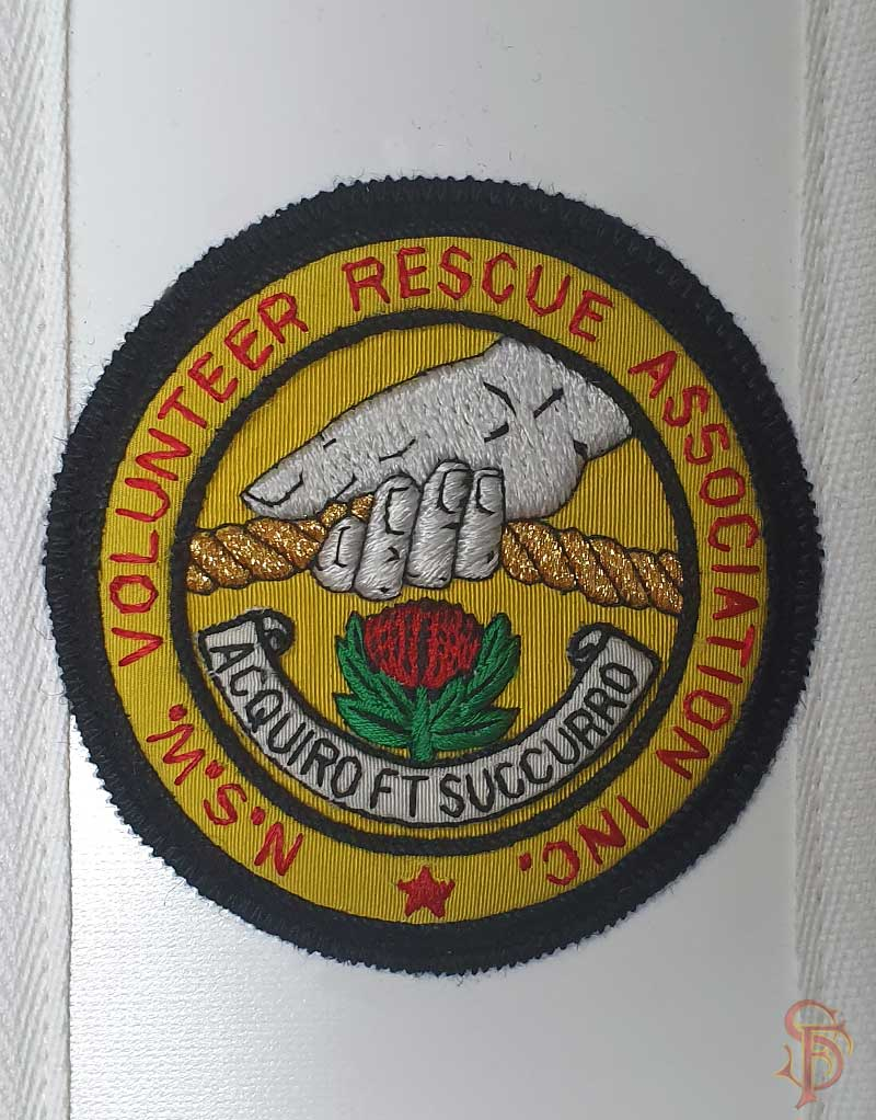 bullion embroidered badges