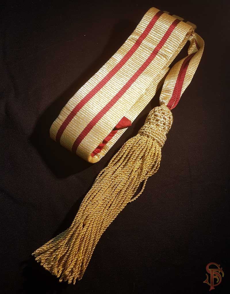 ceremonial sashes